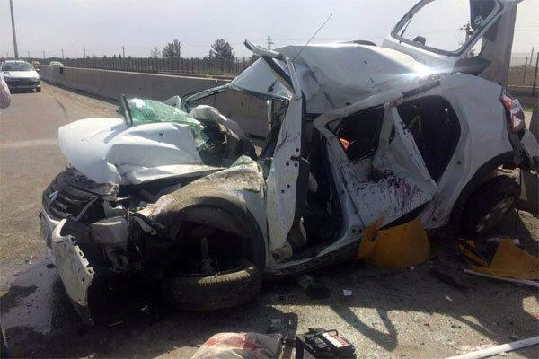برخورد خودرو پراید با کامیون در جغتای 8 کشته برجای گذشت