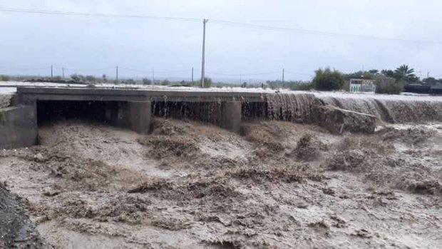 12 روستادر بخش توکهور و هشتبندی به زیر آب رفت