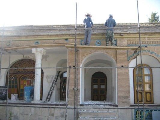 عملیات اجرایی مرمت قلعه والی ایلام آغاز شد