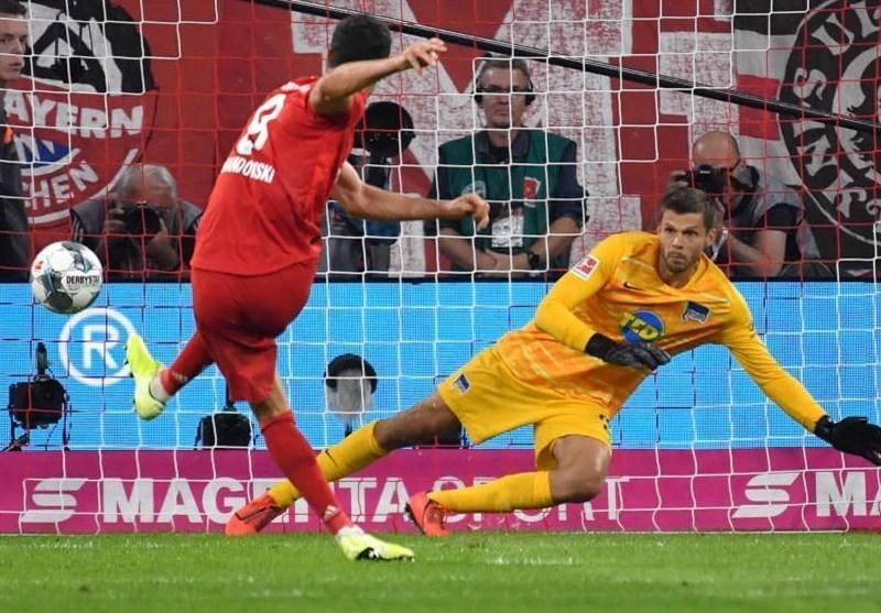 توقف بایرن مونیخ در بازی افتتاحیه بوندس لیگا