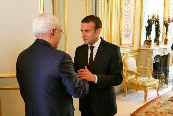 دیپلماسی چند وجهی وزیر خارجه ایران در فرانسه