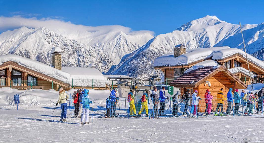 راهنمای ورزش های زمستانی در سفر به سوچی