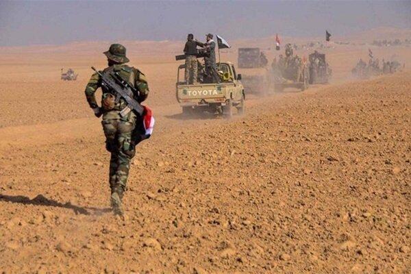 کشف انبار بمب در شمال رمادی توسط حشد شعبی
