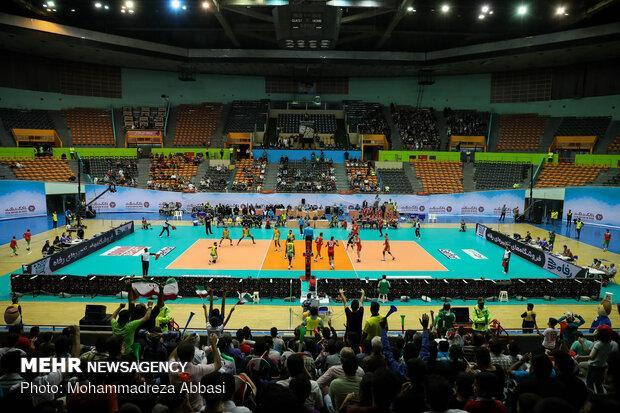 حریف تیم ملی والیبال ایران در فینال مسابقات مشخص شد