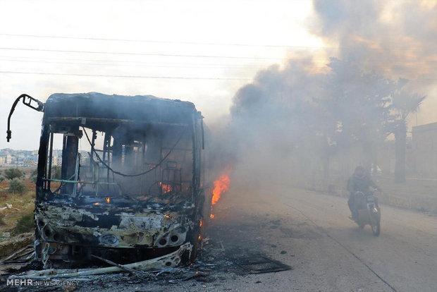 واژگونی اتوبوس در ایتالیا جان 16 دانش آموز را گرفت