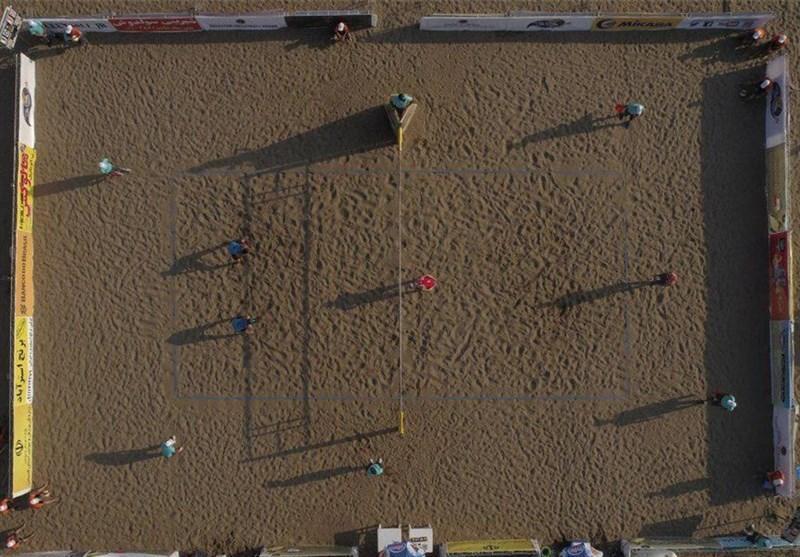 قشم، میزبان نخستین تور والیبال ساحلی سال 2020