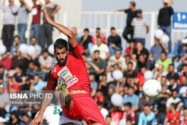 فزونی سه گله پرسپولیس برابر شاهین شهرداری بوشهر در نیمه نخست