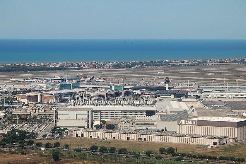 فرودگاه لئوناردو داوینچی؛ رم، ایتالیا