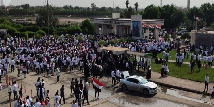 کشف و خنثی سازی طرح تروریستی همزمان با تظاهرات بغداد