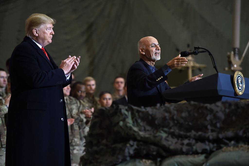 سفر فوق سری ترامپ به افغانستان