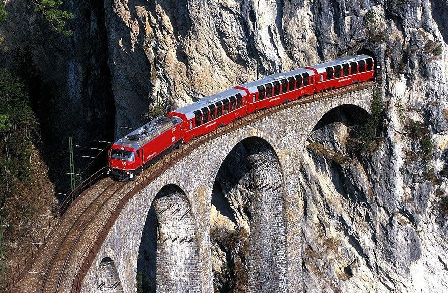بهترین مسیرها برای سفر با قطار در اروپا ، بلیط قطار برای عبور از دره های ایتالیایی تا تجربه مزه پنیر سوئیسی