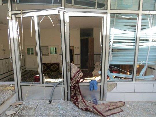انفجار گاز به دو خانه در خمینی شهر آسیب رساند