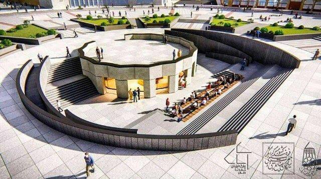 سایت موزه میدان همدان سریع تر تکمیل شود