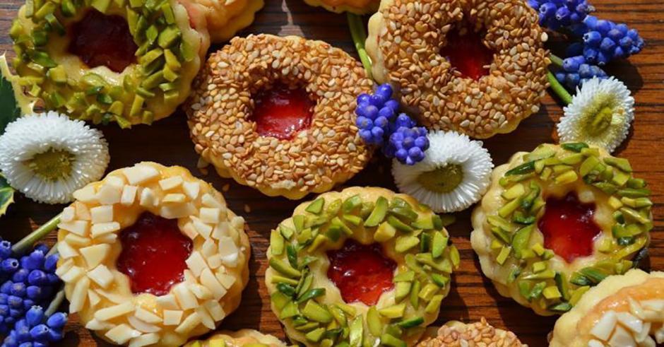 طرز تهیه شیرینی خانگی مخصوص عید؛ شیرینی مشهدی بازاری (آلمانی)