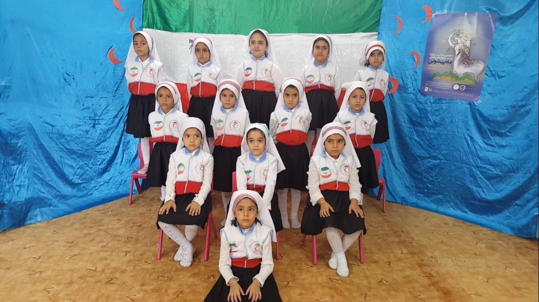 درخشش غنچه های هلال یزدی در سومین جشنواره ماه پیشونی
