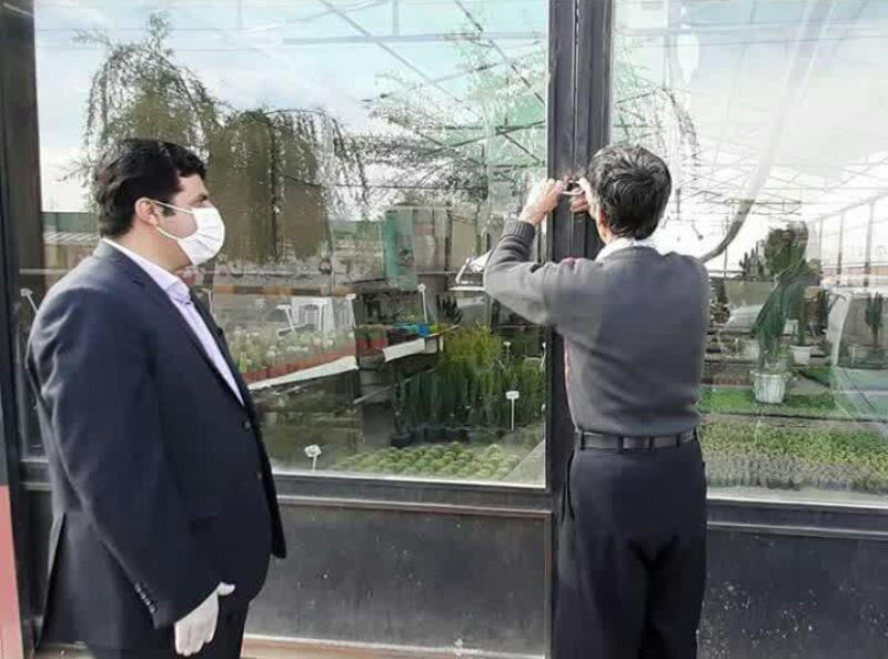 خبرنگاران نمایشگاه های گل و گیاه شهرستان پاکدشت تعطیل شد