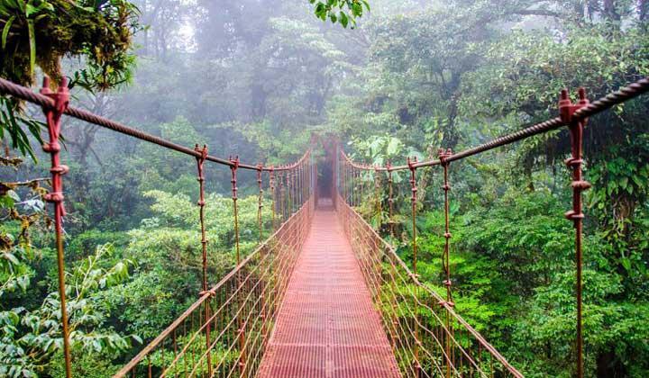 جاذبه های گردشگری طبیعی کاستاریکا