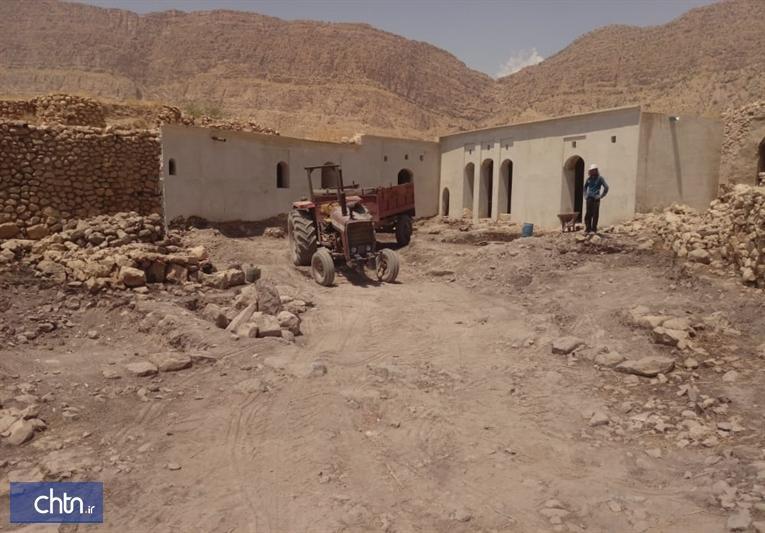 فاز دوم بازسازی خانه تاریخی ملاآقاجان الیفی در کازرون شروع می گردد
