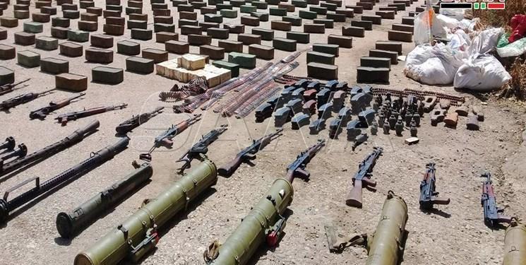 تسلیحات به دست تروریست ها در ادلب سوریه نرسید