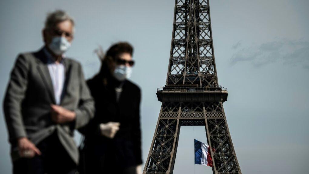 کرونا در فرانسه بار دیگر رکورد شکست؛ 60486 مبتلا و 828 فوتی در یک روز