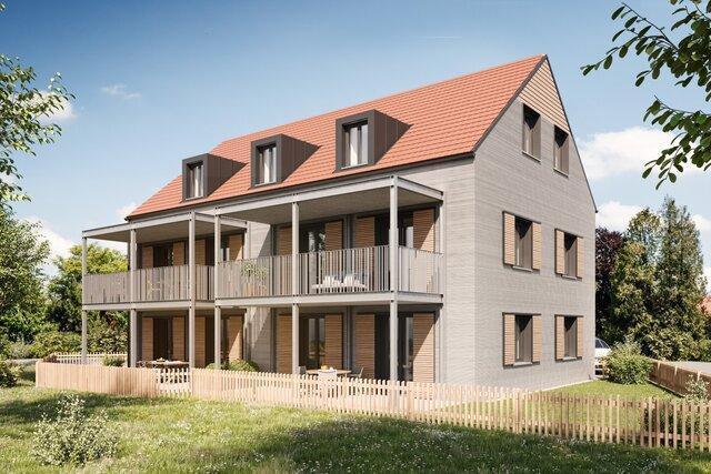 چاپ3 بعدی آپارتمانی 3 طبقه در آلمان