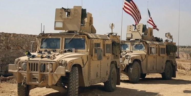 ده ها خودروی زرهی آمریکا از سوریه وارد عراق شدند