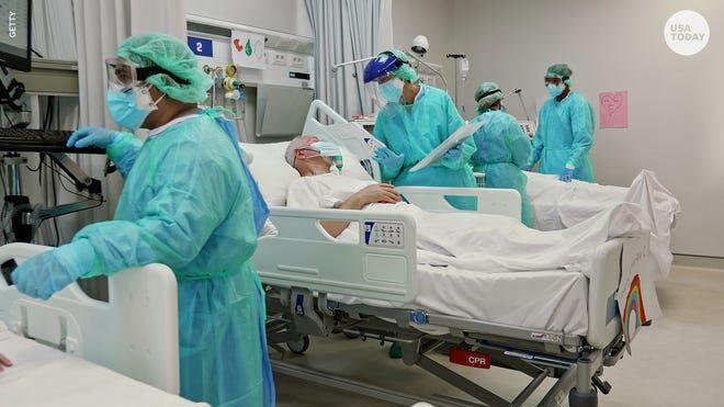 2700 بیمار کرونایی در آمریکا در 24 ساعت گذشته جان خود را از دست دادند