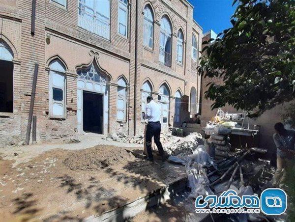 تبدیل خانه صمصام به موزه تاریخ و فرهنگ نهاوند