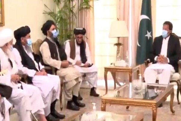 ملاقات عمران خان با نمایندگان طالبان