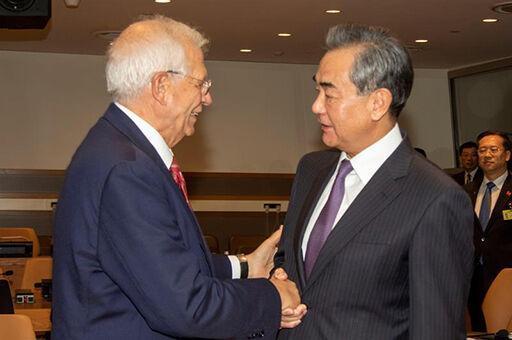 خبرنگاران گفت وگوی تلفنی بورل و وزیرخارجه چین درباره اجرای کامل برجام