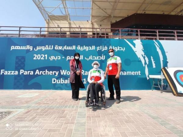 زهرا نعمتی نایب قهرمان مسابقات پاراتیروکمان امارات شد