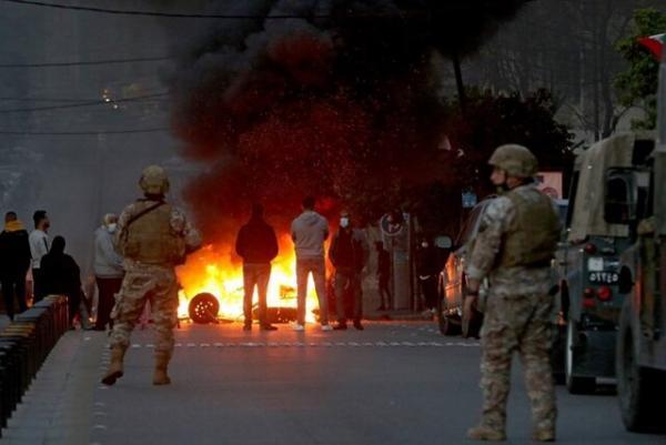 ارتش لبنان بازگشایی مسیرهای بسته شده را شروع کرد