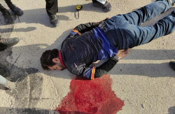 خبرنگاران عملیات نحوه کشته شدن قاتل خانوادگی شهرستان کنگان تشریح شد