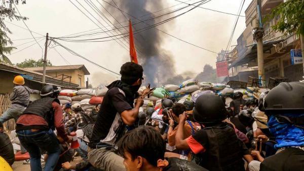 گزارشگر حقوق بشر سازمان ملل: 250 هزار نفر در میانمار آواره شدند