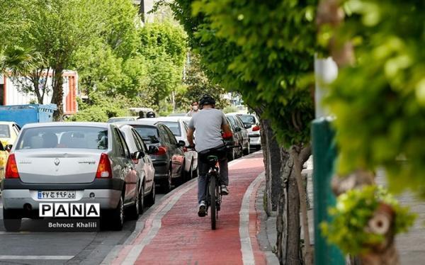 ساخت 320 کیلومتر پیاده رو و جهت دوچرخه در سال گذشته