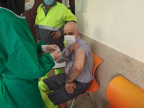 واکسیناسیون پاکبانان جنوب تهران آغاز شد
