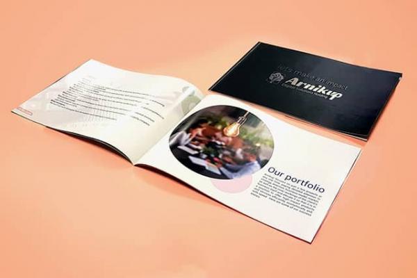 چاپ کاتالوگ، تبلیغی حرفه ای برای محصولات