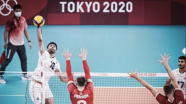 تیم ایران هر سه ست را با امتیازهای 16، 25، 20، 25 و 22، 25 واگذار کرد