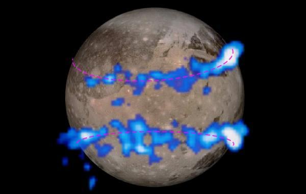 بخار آب برای نخستین بار در جو عظیم ترین قمر منظومه شمسی کشف شد