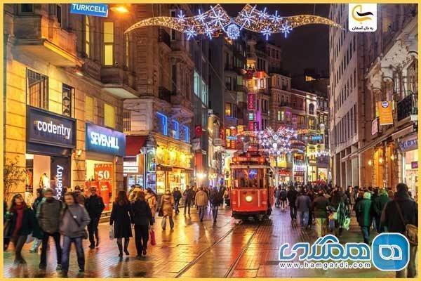تور ارزان استانبول: آشنایی با خیابان استقلال استانبول